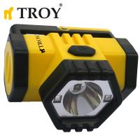 Фенер за глава TROY T 28200 / 1W , батерии 3 х 1.5 ААА Alkaline /
