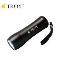 Ръчен фенер TROY T 28089 / 3 AAA батерии, 9 LED лампи /