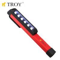 Работна лампа с 6 светодиода TROY T 26015 / батерии 3 x ААА, 16 сантиметра /