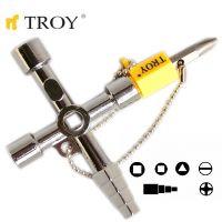 Универсален ключ TROY T 24014 / 0.110 кг. /