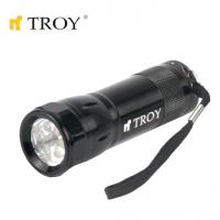 Ръчен фенер TROY T 28091 / 6 броя светодиоди  /