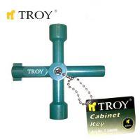 Универсален ключ за електрически кутии TROY T 24000 / 72 милиметра /