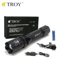 Акумулаторен фенер TROY T 28085 / 3W CreeLED диод /