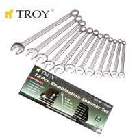 Комплект звездогаечни ключове TROY T 21512, 12 части