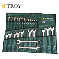Комплект звездогаечни ключове TROY T 21525, 25 части