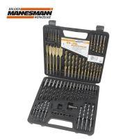Комплект свредла за дърво, метал и зидария Mannesmann M 59860 / 60 бр. /