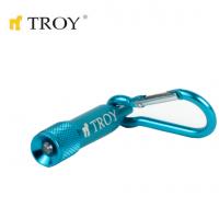 Ръчен фенер TROY T 28097 / 4 бр. батерии тип LR 41 /