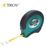 Ролетка с метална лента TROY T 23133 / 30 метра x 13 милиметра)