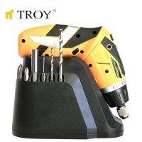 Акумулаторна отвертка TROY T 13036 / 3.6 V - 1500mAh Li-Ion /