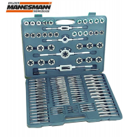 Професионален комплект за нарязване на резби Mannesmann M 53255 / 110 части /