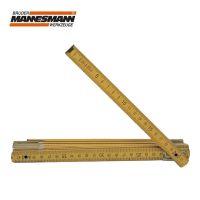 Дървен сгъваем метър Mannesmann M 810-2 / 2 м /