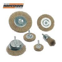 Комплект телени четки за бормашина Mannesmann M 43806 / 6 броя /