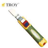 Инструмент за оголване на кабели TROY T 24001 / Ø 8-28 милиметра /