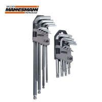 Комплект Г-Образни Т-Профилни и шестограмни ключове Mannesmann M 18170 / 18 бр. /