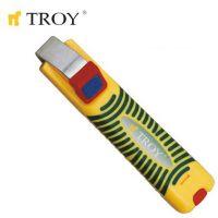 Инструмент за оголване на кабели TROY T 24004 / Ø 8-28 милиметра /
