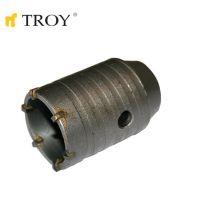 Боркорона за бетон с диамантено покритие TROY T 27468 / Ø 80 милиметра /