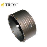 Боркорона за бетон с диамантено покритие TROY T 27469 / Ø 100 милиметра /