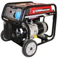 Бензинов монофазен генератор SENCI SC-6000E TOP, 5.5 kW, 25 л, с ел. стартер
