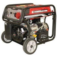 Бензинов генератор, с електрически стартер SENCI SC-8000TE / 7.0kW, трифазен, AVR, 4-тактов /