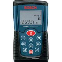 Ролетка лазерна противоударна Bosch DLE 40 / обхват 0.05-40.00 метра /