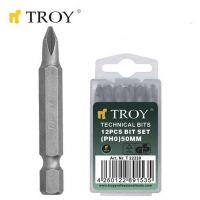 Накрайници за отвертка TROY T 22221 / PH1x50 милиметра /