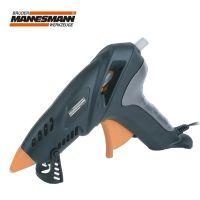 Пистолет за горещо слепване Mannesmann M 49250 / 80W + 5 бр. силиконови пръчки Ф 11 мм в куфар /