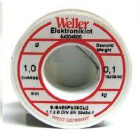 Тинол Weller EL 60/40-100 / 100гр. / ø 3 mm /