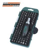 Комплект тресчота ръкохватка с накрайници Mannesmann M 29894 / 79 части /