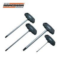 Професионален вътрешен шестограм с T-образна ръкохватка Mannesmann M 18013 / 4 мм /