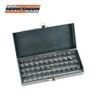 Комплект накрайници за отвертка Mannesmann M 29832 / 48 части в метална кутия /
