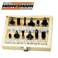 Комплект накрайници за оберфреза Mannesmann M 545-012 / 12 бр. /