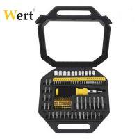 Комплект тресчота ръкохватка,накрайници и вложки Wert 101 - W 2253