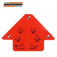Специален ъгломер с магнит Mannesmann M 1278 / 120x83x15 мм /