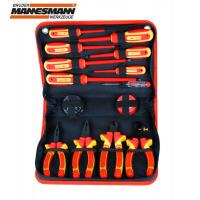 Комплект електричарски инструменти Mannesmann M 11214 / 13 части /