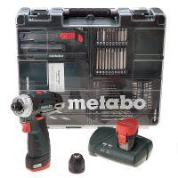 АКУМУЛАТОРНА ОТВЕРТКА METABO POWERMAXX BS BASIC SET / 10.8V, 2.0 Ah /