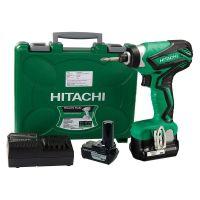 Акумулаторен ударен винтоверт HiKOKI  Hitachi WH10DAL-WC / 2 бр, 10.8 V, 1.5 Ah,  108 Nm /