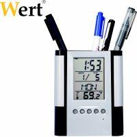 Поставка за химикали с часовник и термометър Wert