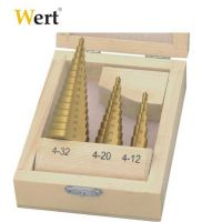 Комплект конусовидни свредла за ламарина Wert - W 3500