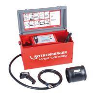 Машина за електродифузно заваряване на фитинги ROTHENBERGER ROFUSE 1200 TURBO / до 1200 mm /