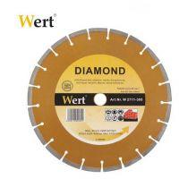 Сегментарен диамантен диск за гранит и мрамор Wert (115мм)