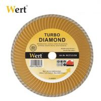 """TURBO"" Диамантен диск за гранит, мрамор, керамика и камък Wert  (115mm)"
