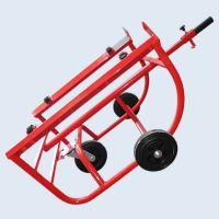 Ръчна количка Dinis HTB-300-GB за варели / 327x249 mm , 300 kg / колела Blickle