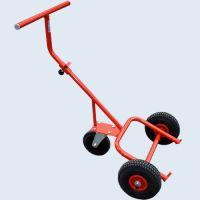 Ръчна количка за варели Dinis HTTB-300-PB-GKB / 800x600 mm , 300 kg / колела Blickle