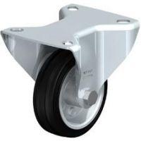 Колела със стандартна гума от плътен каучук и гумена работна повърхнина Blickle B-VE 80R / Ø 80 mm /