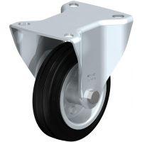 Колела със стандартна гума от плътен каучук и гумена работна повърхнина Blickle BE-VE 100R / Ø 100 mm /