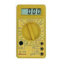 Мултицет дигитален M832 V&A Instrument / 1000V DC, 750V AC /