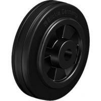 Колела със стандартна гума от плътен каучук и гумена работна повърхнина Blickle VPP 100/12R / Ø 100 mm /