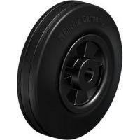 Колела със стандартна гума от плътен каучук и гумена работна повърхнина Blickle VPP 125/12R / Ø 125 mm /