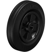 Колела със стандартна гума от плътен каучук и гумена работна повърхнина Blickle VPP 200/20R / Ø 200 mm /