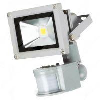 Прожектор Klaus LED 10W, 6400К, 1000Lum + сензор